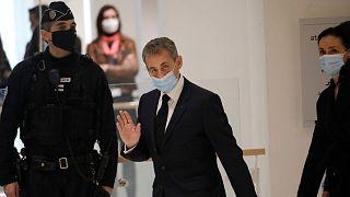 نیکولا سارکوزی، رئیس جمهوری اسبق فرانسه در دادگاه