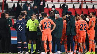 Un incident raciste abrège la rencontre PSG-Basaksehir