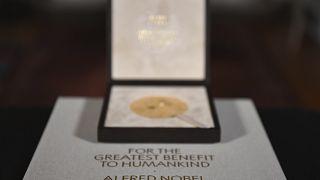 Медаль Нобелевского комитета по медицине.