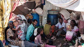 نازحون فروا من إثيوبيا إلى السودان