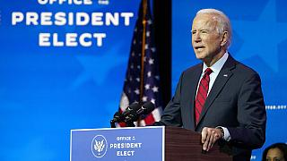 Joe Biden promises 100 million COVID-19 vaccinations during his first 100 days in office.