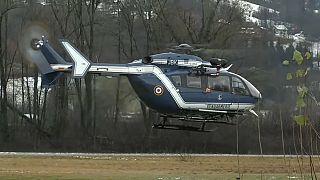 La base aéronautique d'Albertville en Savoie