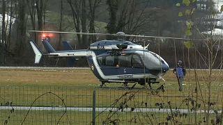 Крушение вертолёта в Савойе: пилот выжил