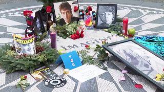 40. Todestag von John Lennon: Gedenken in New York