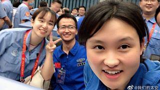 دانشمند جوان چینی در پروژه فضایی