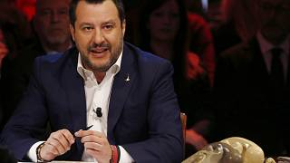 Matteo Salvini, leader of The League party in January 2020.
