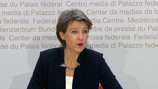 Schweizer Bundespräsidentin Simonetta Sommaruga.