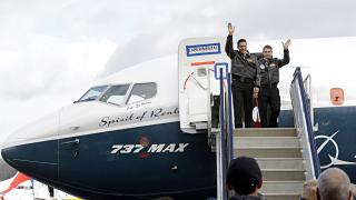 """""""Боинг-737-8 макс"""" возобновил полёты"""