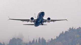 Startende 737 MAX.