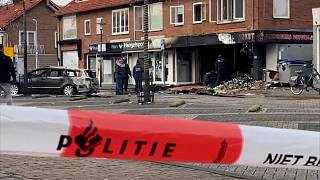 Explosions hit supermarkets in the Netherlands