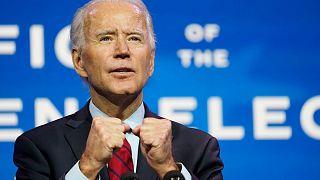 جو بایدن رئیسجمهور تازه انتخاب شده آمریکا