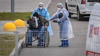 Fahrdienst für überarbeitete Ärzte in Sibirien