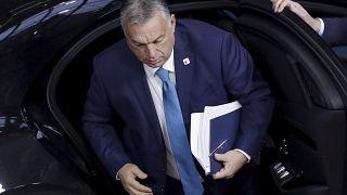 Orbán Viktor egy korábbi uniós csúcson