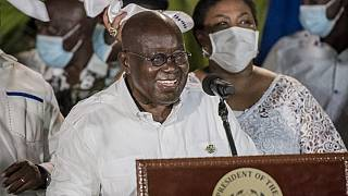 Ghana presidential election: Nana Akufo-Addo declared winner by 51.59%