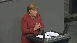 Angela Merkel im Bundestag zu Covid-19
