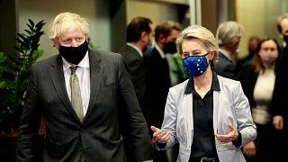 Boris Johnson & Ursula von der Leyen