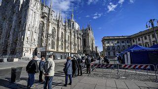 В Италии организована не только вакцинация, но служба психологической помощи тем, кто тяжело переживает ситуацию с пандемией