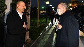 سفر اردوغان به باکو