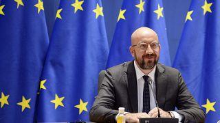European Council president, Charles Michel