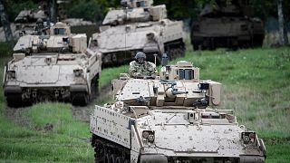تمرینهای نظامی مشترک نظامیان سوئد و ارتش آمریکا