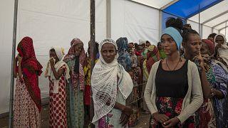 Des milliers d'Éthiopiens en transit au Village 8