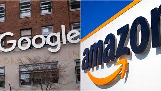 Google ve Amazon daha önce de Avrupa'da bazı ülkelerde büyük para cezalarına çarptırılmıştı.