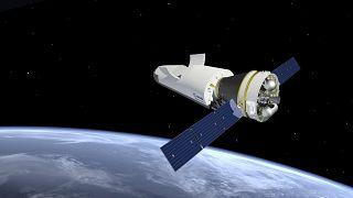 """النموذج الأولي للمكوك الفضائي """"سبيس رايدر"""""""