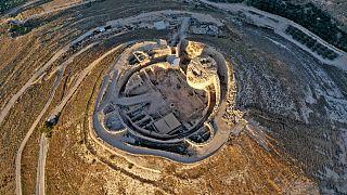 قصر هيرودس (قلعة هيروديون) شرق مدينة بيت لحم