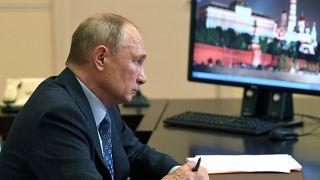 Владимир Путин в Ново-Огарёво 8 декабря 2020