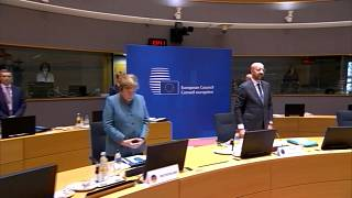 summit: minute of silence to honour late French President Valery Giscard d'Estaing