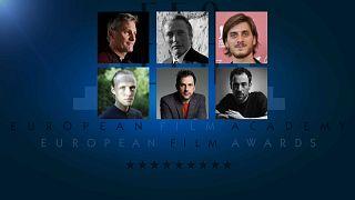 Nominados a los Premios del Cine Europeo en la categoría de mejor actor
