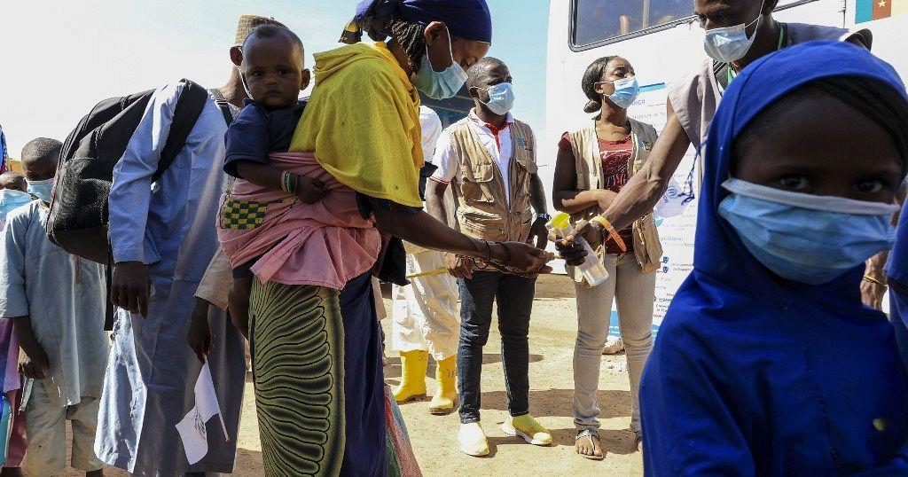 C.A.R refugees return home