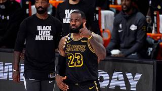 Lakers star LeBron James named Athlete of the Year