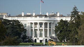 البيت الأبيض الأمريكي في واشنطن العاصمة.