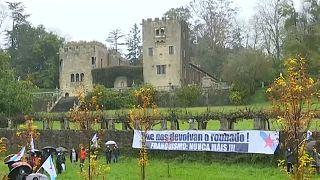 Летний дворец диктатора Франко Пасо-де-Мейрас