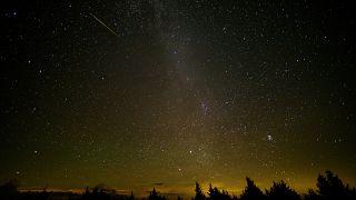 Himmelsgucker können sich auf einen besonders schönen Meteorstrom am Wochenende freuen
