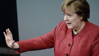 La canciller alemana Angela Merkel el 9 de diciembe en Berlín