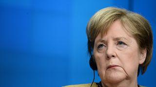 Angela Merkel in Bundestag