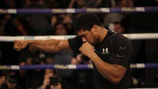Boxing: Anthony Joshua 'battle ready' for Pulev