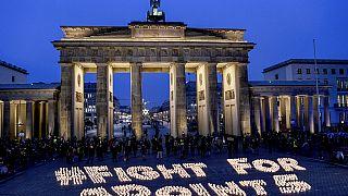 Klimaprotest in Berlin am 11.12.
