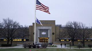 The Pfizer Global Supply Kalamazoo manufacturing plant is shown in Portage