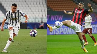Cristiano Ronaldo ile Zlatan İbrahimoviç
