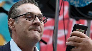 Avusturya eski Başbakan Yardımcısı Heinz Christian Strache