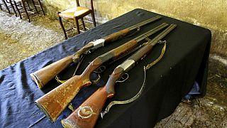 Jagdgewehre in Südwestfrankreich (ARCHIV)