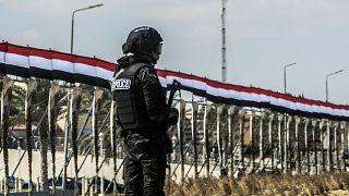 عنصر أمن تابع للشرطة المصرية
