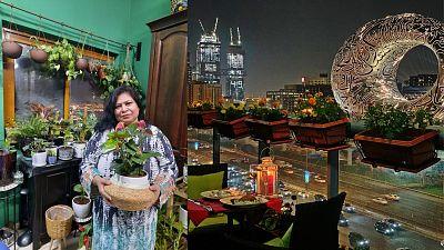 Dubai residents are turning their hand to urban gardening.