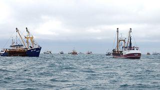 قایقهای ماهیگیری فرانسوی و بریتانیایی
