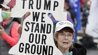 Washington'da Başkan Trump'a destek eylemleri