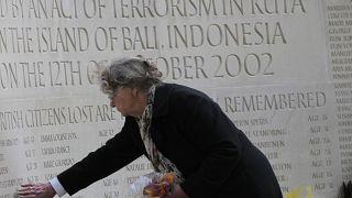 نصب لذكرى ضحايا هجوم بالي في كوتا (2002)