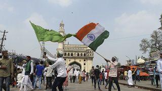 مسلمون يحتفلون بعيد المولد النبوي في الهند